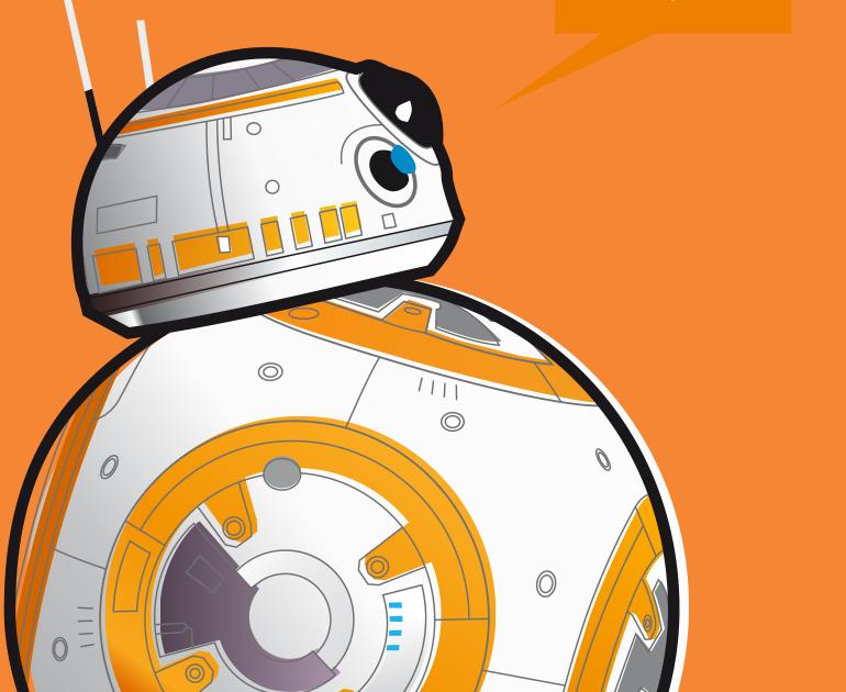 R2-D2 e BB-8 (Star Wars)