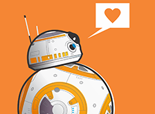 R2-D2 e BB-8 (Star Wars)